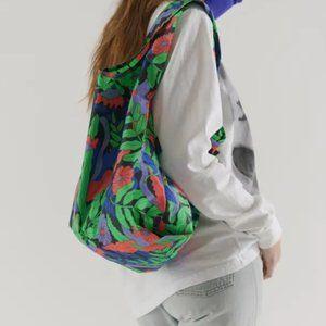Baggu Midnight Fern Reusable nylon bag